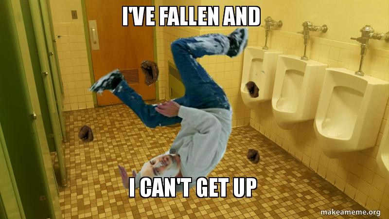 i ve fallen and i can t get up make a meme