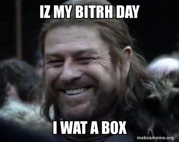 Happy Ned Stark Meme meme