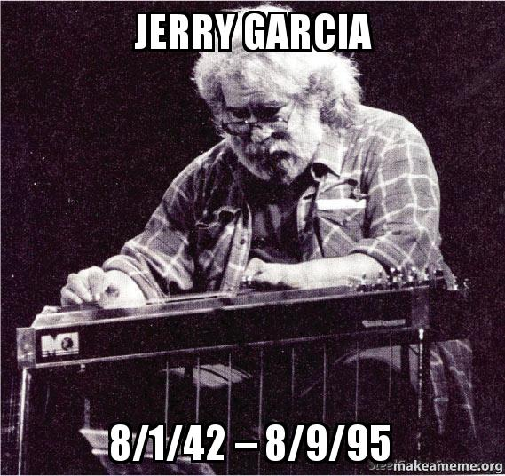 jerry garcia birthday