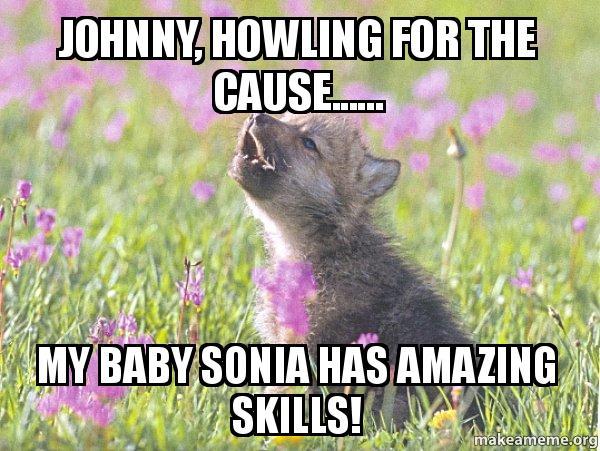 baby insanity wolf meme - photo #15