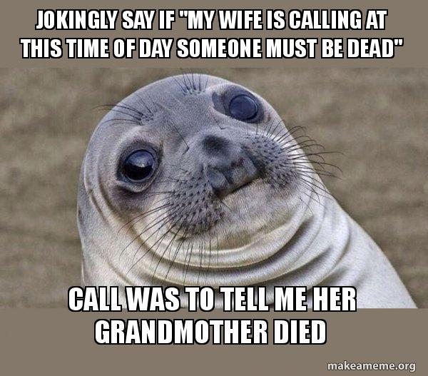 Call to my wife