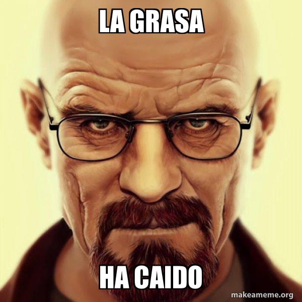 Walter White Breaking Bad meme