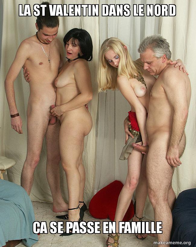 фото домашнее голые всей семьей