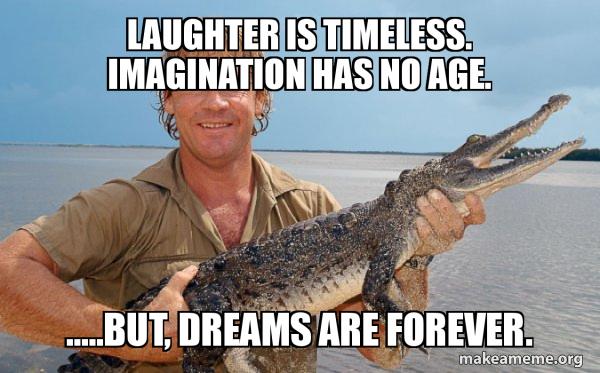 Steve irwin meme