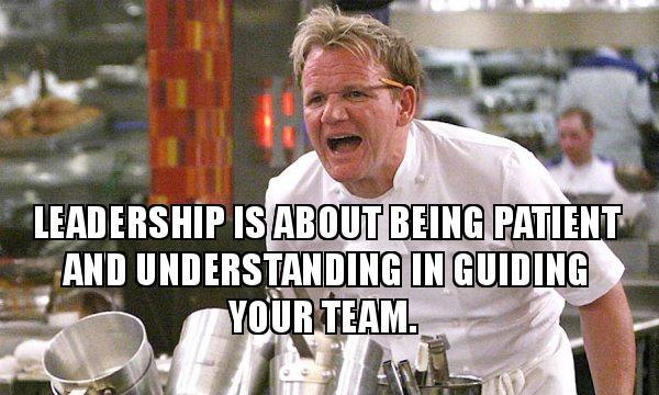 Gordon Ramsay Hell's Kitchen meme