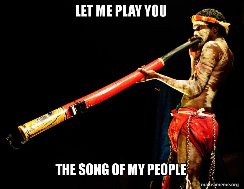 Let me play you the song of my people - fart trumpet | Make