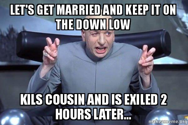 Married on the down low