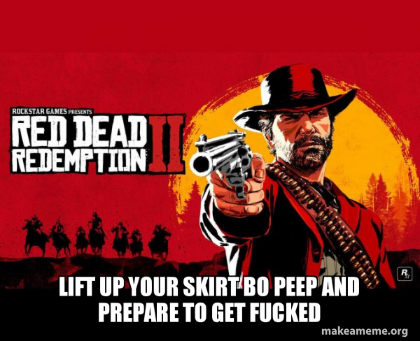 Red Dead Redemption Two ( RDR2 ) meme