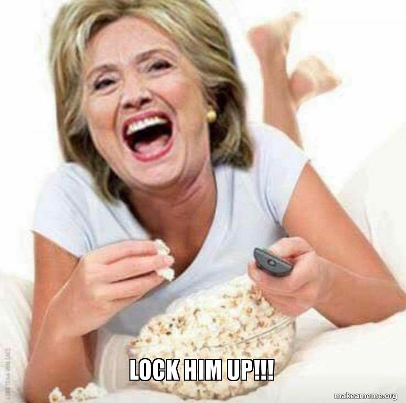 Lock Him Up Make A Meme