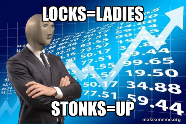 Stonks Only Go Up meme