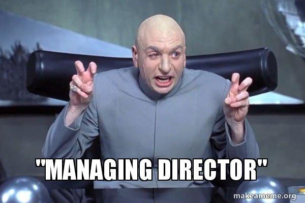 Managing Director Make A Meme