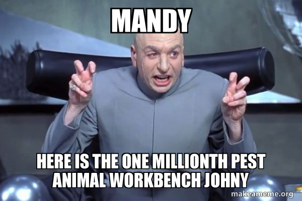 Dr Evil Austin Powers meme