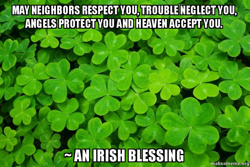 May Your Neighbors Respect You Trouble Neglect You Tattoo meme