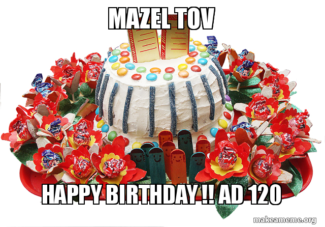 Mazel Tov Happy Birthday Ad 120 Make A Meme