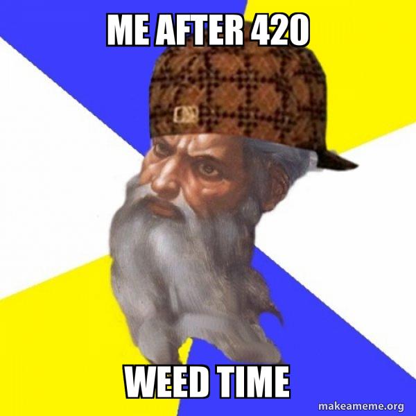 Scumbag Advice God meme