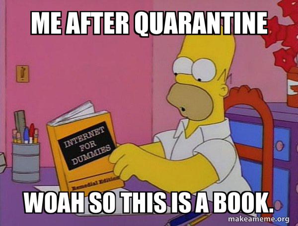 Internets Homer meme
