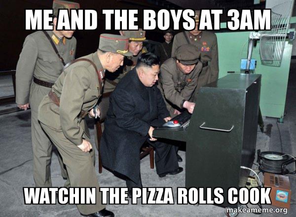 North Korea Not Scary meme
