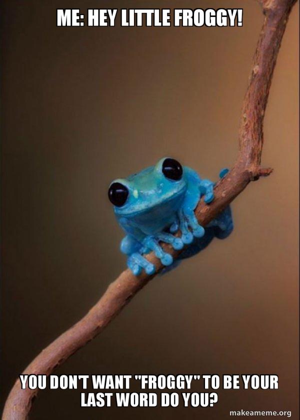Small Fact Frog meme