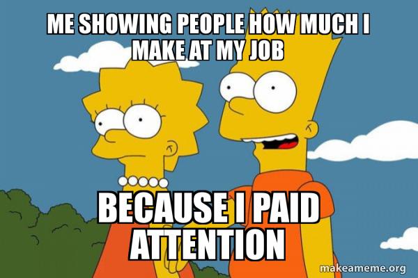 Bart and Lisa Chat meme