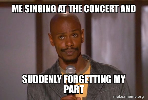 Dave Chapelle (Fucking Up) meme