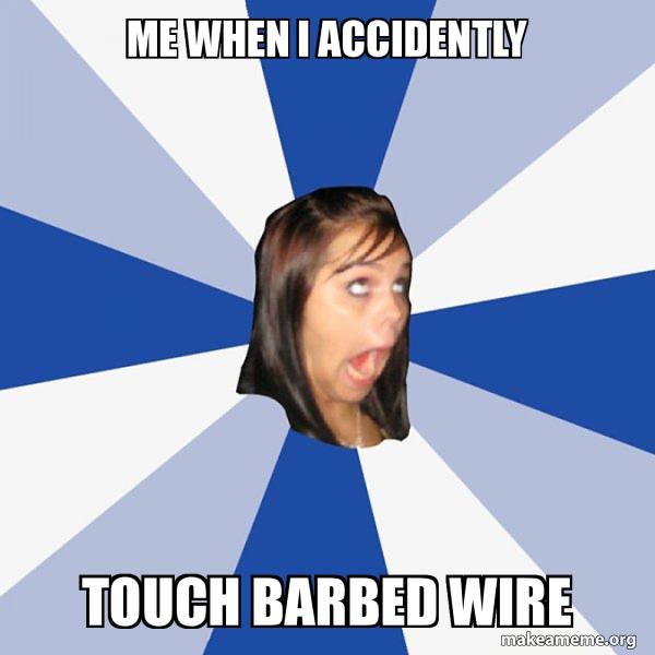 Annoying Facebook Girl meme