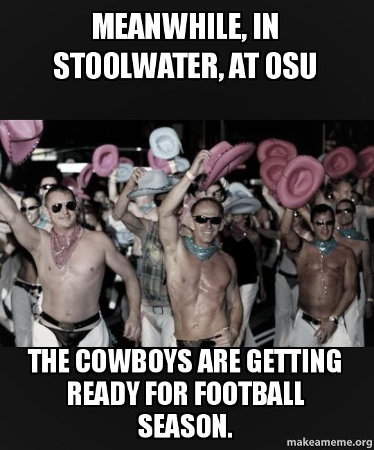 meanwhile in stoolwater