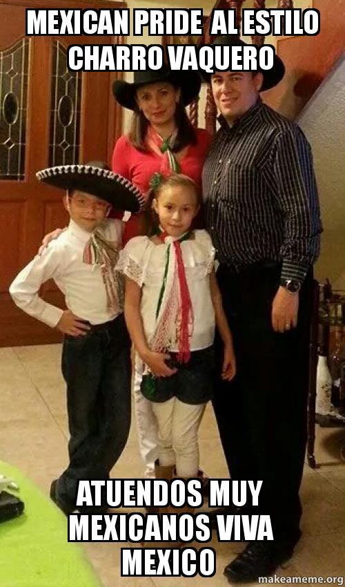MEXICAN PRIDE AL ESTILO CHARRO VAQUERO ATUENDOS MUY ...