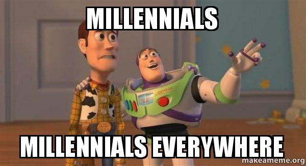... Millennials Everywhere - Buzz and Woody (Toy Story) Meme | Make a Meme
