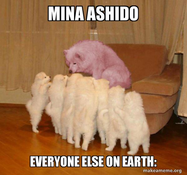Mina Ashido Everyone Else On Earth What Make A Meme