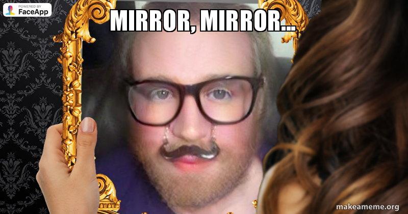 mirror, mirror    | Make a Meme