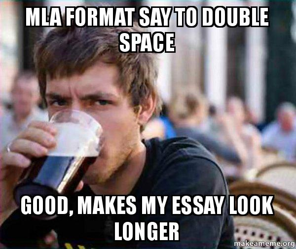 How do i make my essay look longer