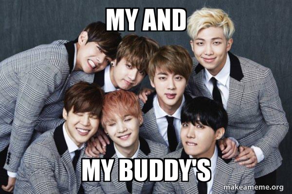 K-Pop Band BTS (Bangtan Boys) meme