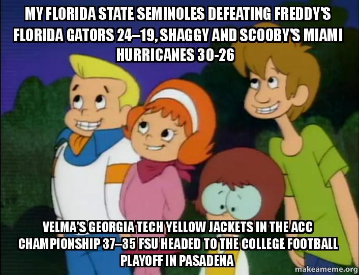 my florida state 6opt0r my florida state seminoles defeating freddy's florida gators 24 19