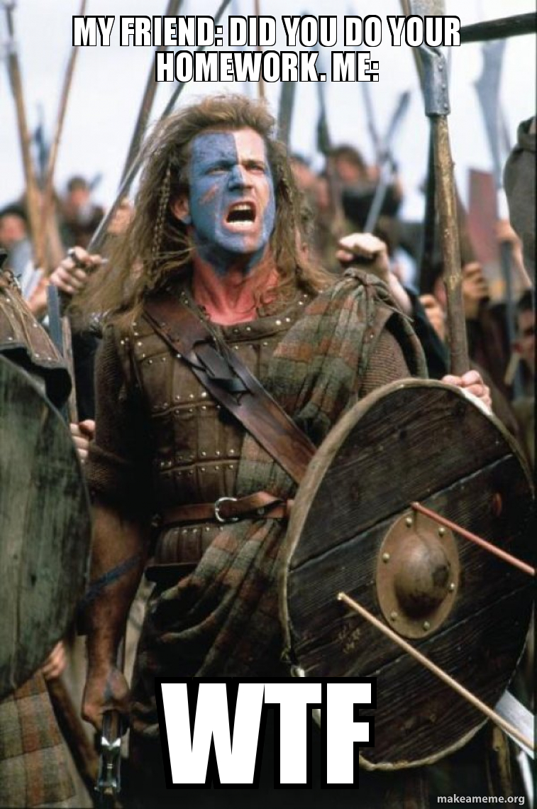 William Wallace meme