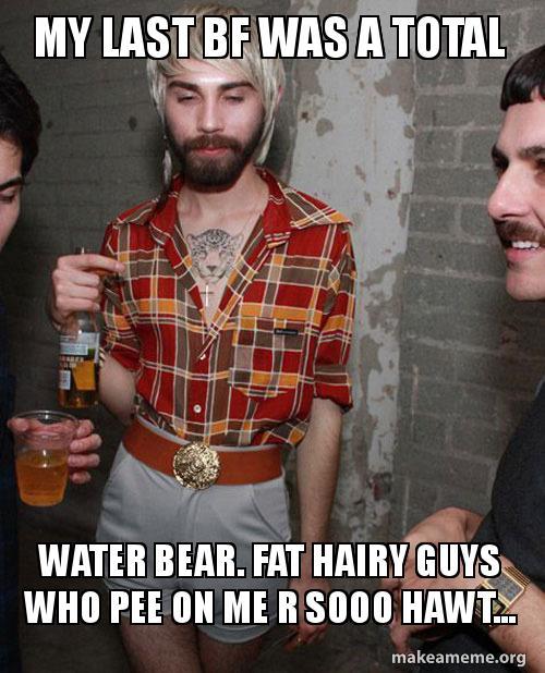 fat hairy gay guys