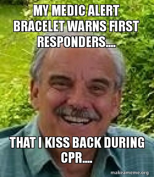 My Medic Alert Bracelet Warns First Responders.... That I