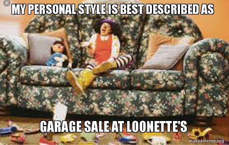 Strange My Personal Style Is Best Described As Garage Sale At Machost Co Dining Chair Design Ideas Machostcouk