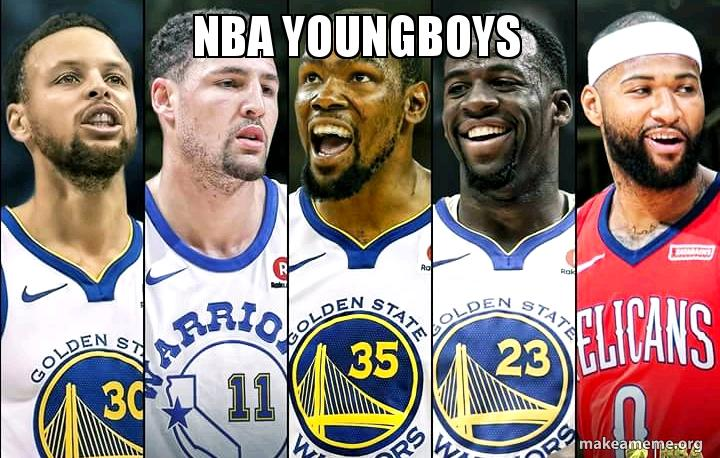 NBA YOUNGBOYS | Make a Meme