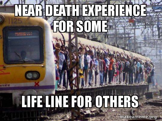Near death experience for some Life line for others   Make a