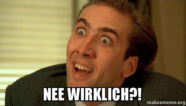 Nee Wirklich Sarcastic Nicholas Cage Make A Meme