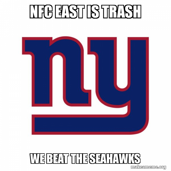 New York Giants meme