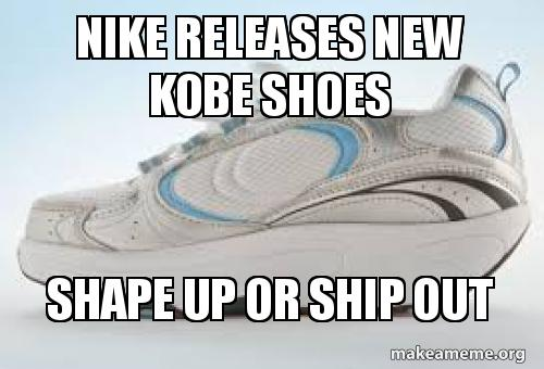 a42120e5471f Nike releases new Kobe shoes SHAPE UP or SHIP OUT - New Nike Kobe ...