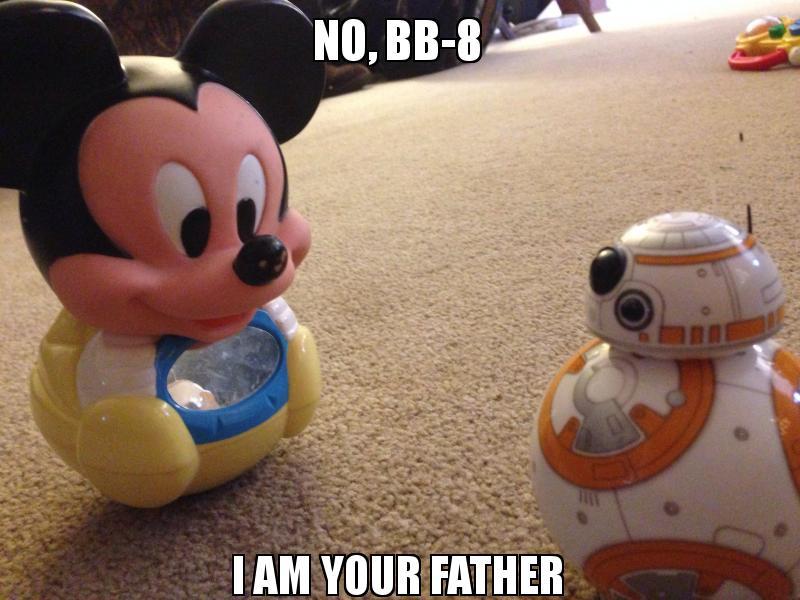 No bb 8 i am your father make a meme