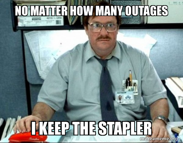 Milton from Office Space meme