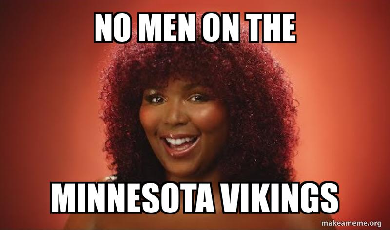 No men on the minnesota vikings