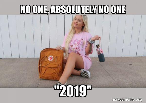 VSCO Girl meme