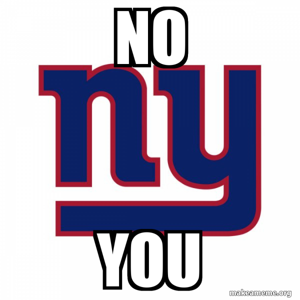 New York Giants meme