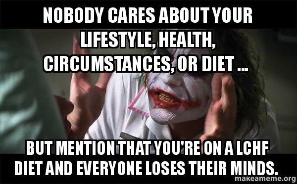 Nobody Cares Meme Joker Nobody cares about you...