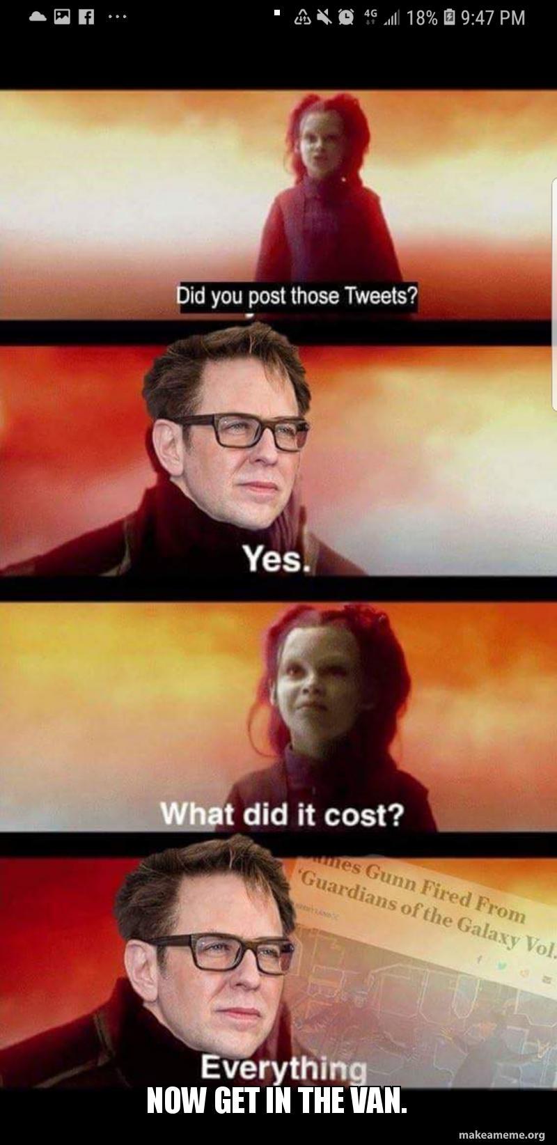 Thanos Meme Template What Did It Cost - Malia Lozano