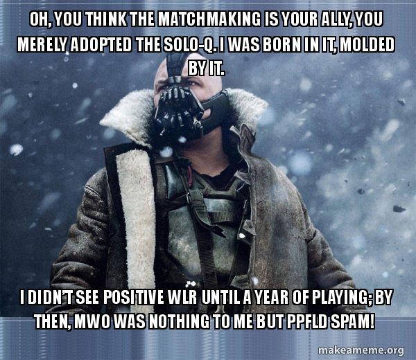 MWO matchmaking
